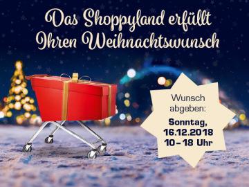 Das Shoppyland erfüllt Ihren Weihnachtswunsch